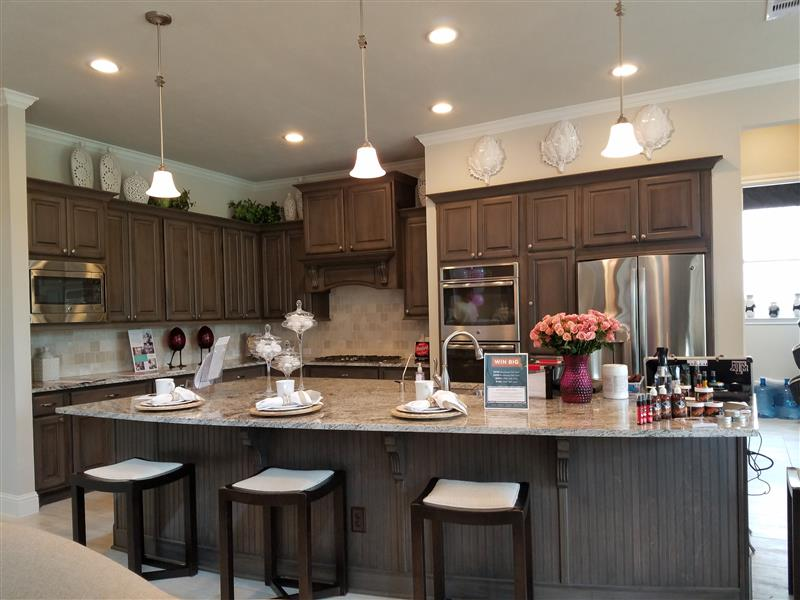 NorthGrove Model Kitchen Mary Smitherman Parkway Realty New Homes for Sale in Magnolia